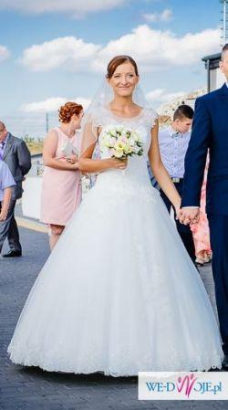 Suknia ślubna PRINCESSA model CARLOTTA z 2015 roku