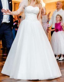 Suknia ślubna princessa Relevance Orinoko 36