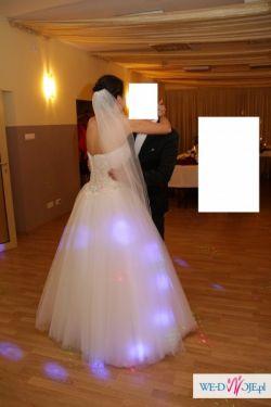 """Suknia ślubna """"Princessa"""" rozm 36-38"""
