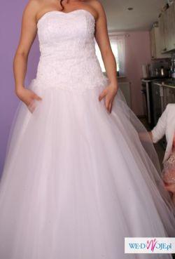 Suknia ślubna princessa rozm 38