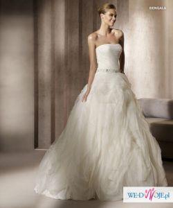 Suknia ślubna Pronovias Bengala kolor ivory S/XS