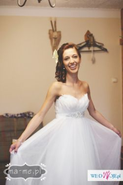 Suknia ślubna PRONOVIAS - model BARCARES, rozmiar 34