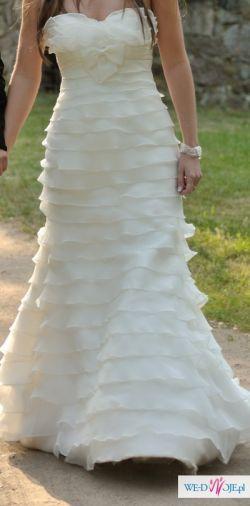Suknia ślubna Pronovias , model Galatea