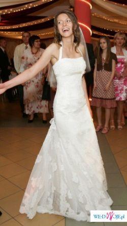 Suknia ślubna Pronovias model Lorna z salonu Madonna