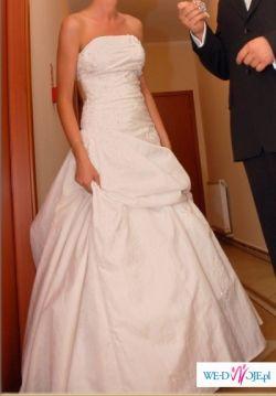 Suknia ślubna - PRONOVIAS Nepal Śnieżnobiała