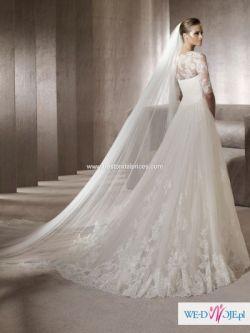 suknia slubna pronovias pergola 2012