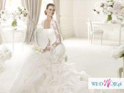 suknia ślubna PRONOVIAS USUN 2013- hiszpańska + welon + bolerko