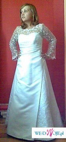Suknia ślubna-prosta i klasycznie elegancka