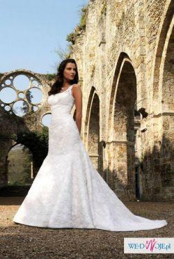 suknia ślubna przepięknie podkreślająca sylwetkę