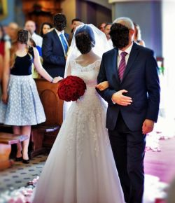 Suknia ślubna r.36 Justin Alexander 8630