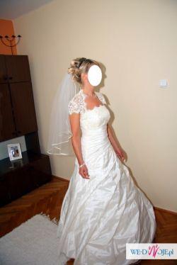 Suknia ślubna, r.38, piękna polecam!!!