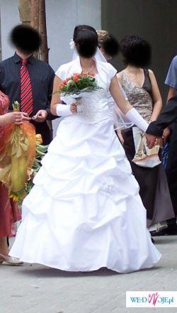 suknia ślubna- raz ubrana
