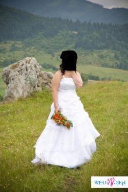 suknia slubna raz uzywana