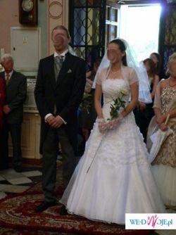 suknia ślubna retro i dodatki