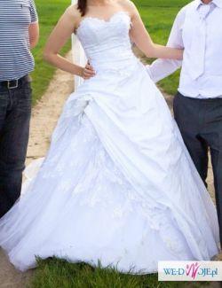 Suknia ślubna Romance z Emmi Mariage biała rozm. 38