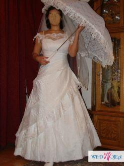 Suknia ślubna romantyczna