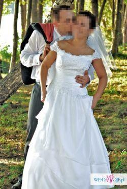 Suknia ślubna Romantyczna Hiszpańska 3638 Suknie ślubne