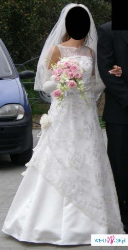 suknia ślubna roz. 34 - 36
