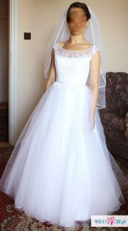 Suknia ślubna, roz. 34-36 GALA FARA 2014 najnowsza kolekcja zwiewna
