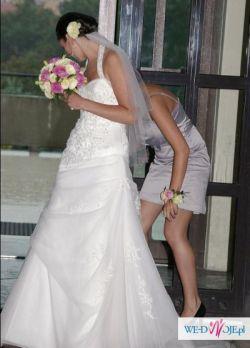 Suknia ślubna roz 34 salon Madonna 3000zł taniej