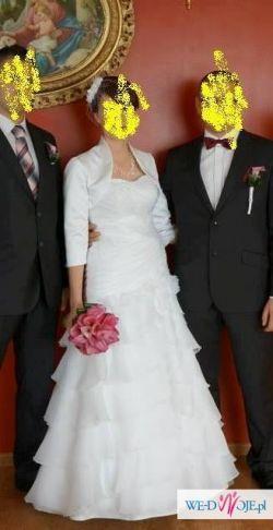 """Suknia ślubna roz. 38  """"Jola moda"""" Steffi"""