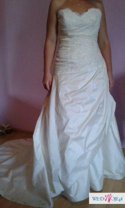 Suknia ślubna roz.38 (M) TANIO!!