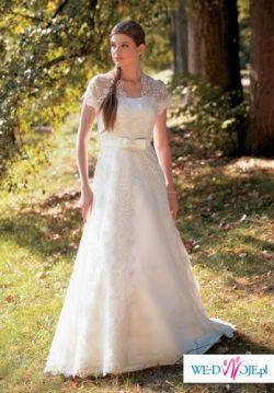 Suknia ślubna roz.42/44 firmy Margarett - model Rocca