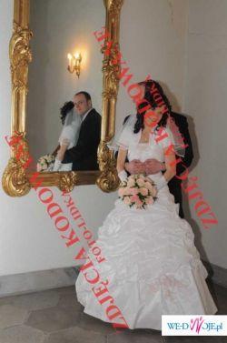 Suknia ślubna rozm. 34/36