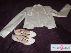 Suknia ślubna rozm 34 + dodatki