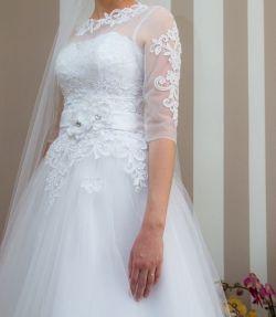 Suknia ślubna rozm. 36-38 BOLERKO GRATIS!