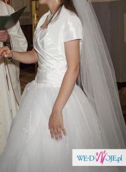 Suknia ślubna rozm.36, piękna, lekka, warto!!
