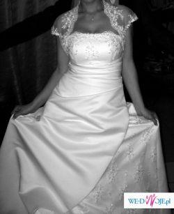 Suknia Ślubna rozm. 38 + Dodatki
