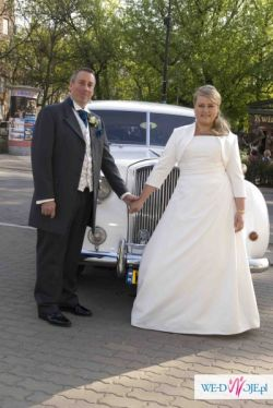 suknia ślubna rozmiar 18 uk Sapphire angielska ecru