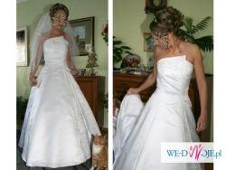 Suknia ślubna rozmiar 34/36 + dodatki!!!!!