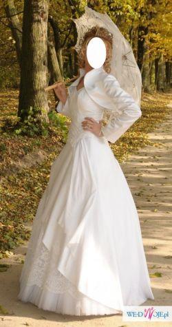 Suknia ślubna, rozmiar 36