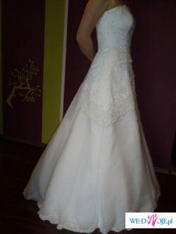 ...:: Suknia ślubna ::....:: rozmiar 36/38 ::...