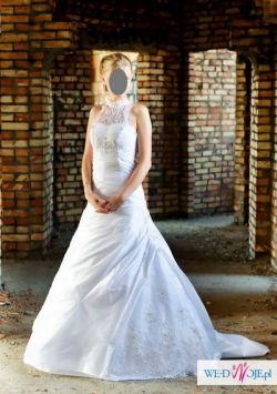 suknia ślubna rozmiar 36/38 - naprawde warto:)