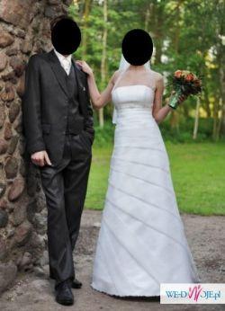 Suknia ślubna rozmiar 36 Visual Chris