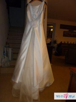 Suknia ślubna rozmiar 36, wzrost 170