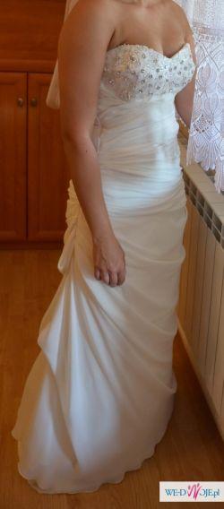 Suknia Ślubna rozmiar 38 model podobny do Vanessa 1119