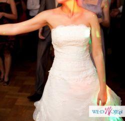 suknia ślubna rozmiar 40, na 178 cm +2,5 cm obcas