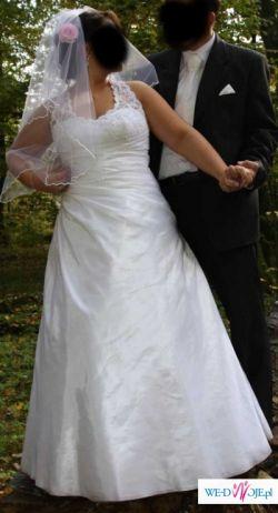 Suknia ślubna rozmiar 42-46 POLECAM