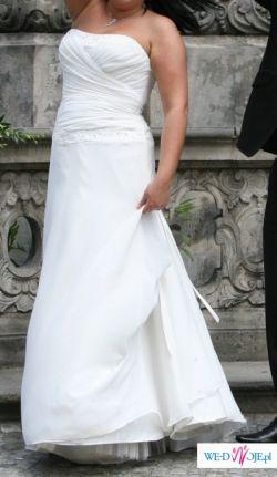 Suknia ślubna rozmiar 44 szyta w Anglii