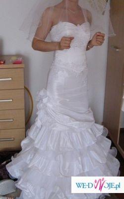 suknia slubna- rybka