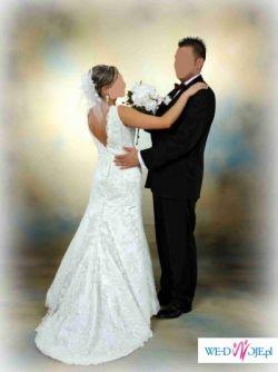 Suknia ślubna Rybka Cała Z Koronki Suknie ślubne Ogłoszenie