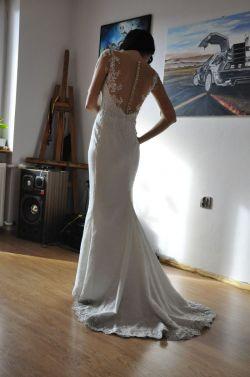 Suknia ślubna rybka syrenka Druina z salonu Igar