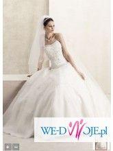 Suknia ślubna Rzeszów David's Bridal (projekt Oleg Cassini), rozmiar 34