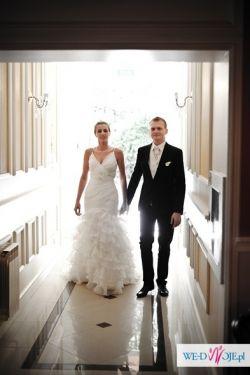 Suknia ślubna salon MADONNA Pronovias GALANTE 2012