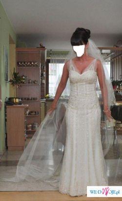 Suknia ślubna - San Patrick Bagdad rozmiar 36