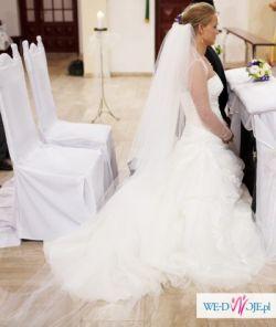 Suknia ślubna San Patrick Paladium 38 + gratisy